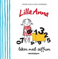 bokomslag Lilla Anna leker med siffror