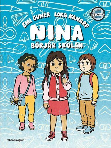 bokomslag Nina börjar skolan
