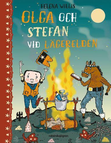 bokomslag Olga och Stefan vid lägerelden