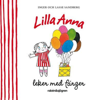 bokomslag Lilla Anna leker med färger