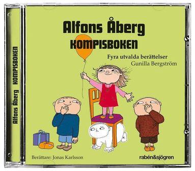 bokomslag Alfons Åberg Kompisboken : Fyra utvalda berättelser