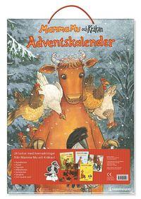 bokomslag Adventskalender 2016 Mamma Mu och Kråkan