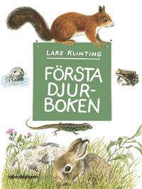bokomslag Första djurboken : däggdjur groddjur kräldjur