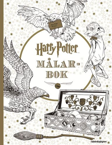 bokomslag Harry Potter målarbok