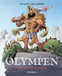 bokomslag Olympen : sagor ur den grekiska mytologin