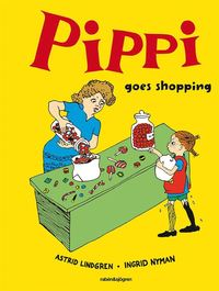 bokomslag Pippi goes shopping