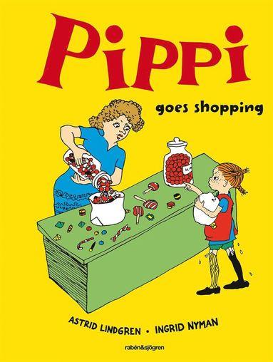 bokomslag Pippi goes shopping