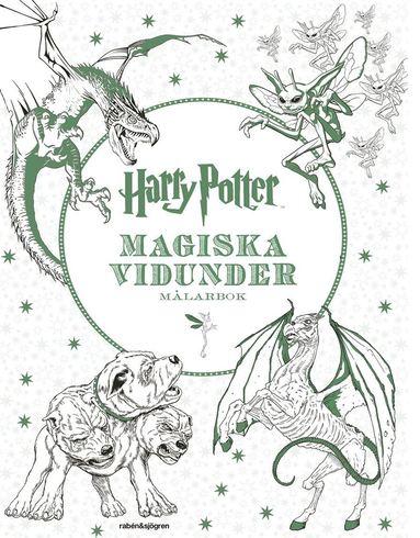 bokomslag Harry Potter - Magiska vidunder Målarbok