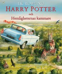 bokomslag Harry Potter och Hemligheternas kammare (Illustrerad)