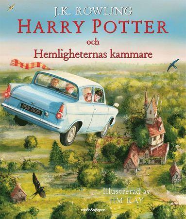 bokomslag Harry Potter och Hemligheternas kammare (Ilustrerad)