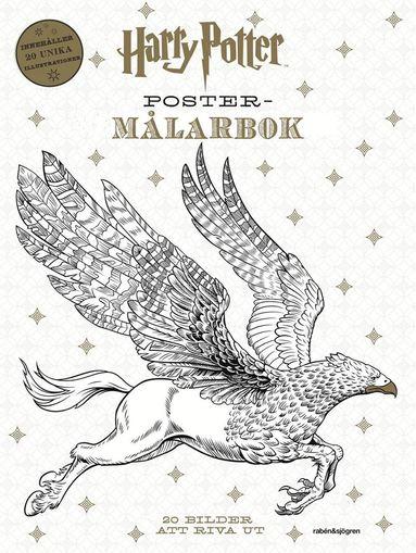 bokomslag Harry Potter Poster-målarbok