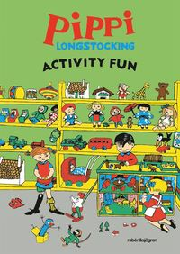 bokomslag Pippi Longstocking Activity Fun
