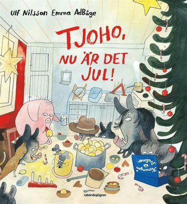 bokomslag Tjoho, nu är det jul!