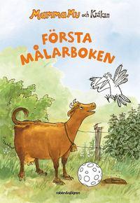 bokomslag Mamma Mu och Kråkan - Första målarboken