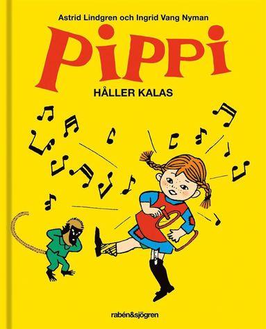 bokomslag Pippi håller kalas