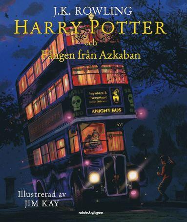 bokomslag Harry Potter och fången från Azkaban (Illustrerad)