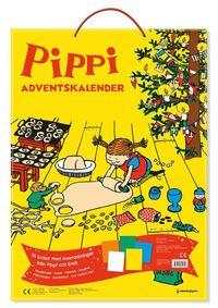 bokomslag Pippi och Emil Adventskalender