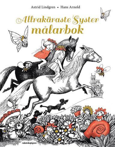 bokomslag Allrakäraste syster - målarbok