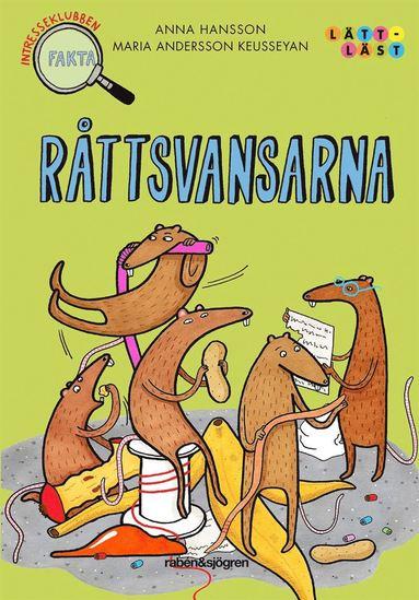 bokomslag Råttsvansarna