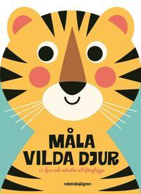 bokomslag Måla djur : Djur och mönster att färglägga