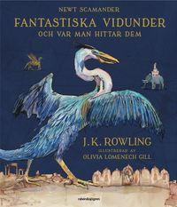 bokomslag Fantastiska vidunder och var man hittar dem (illustrerad)