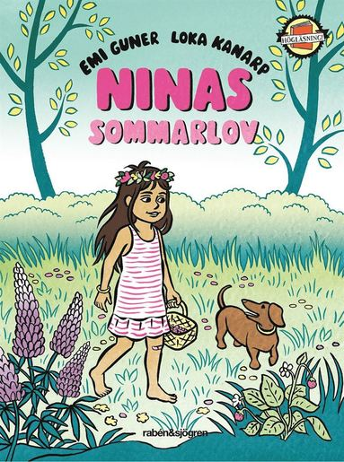 bokomslag Ninas sommarlov