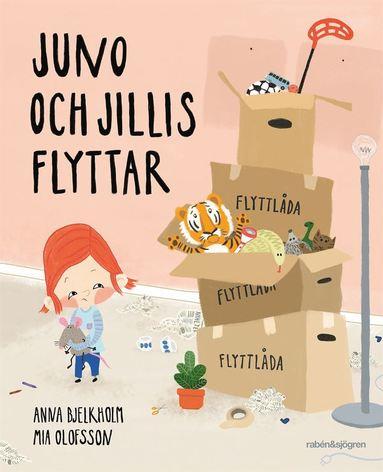 bokomslag Juno och Jillis flyttar