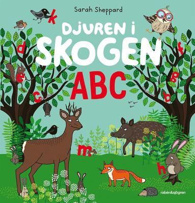 bokomslag Djuren i skogen ABC