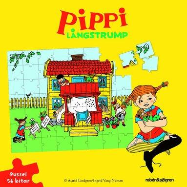 Pussel 56 bitar Pippi Långstrump