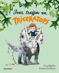 bokomslag Ivar träffar en triceratops