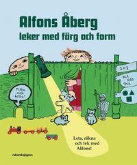 bokomslag Alfons Åberg leker med färg och form : leta, räkna och lek med Alfons!