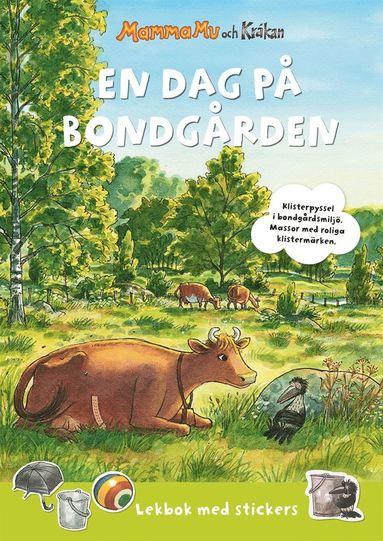 bokomslag Mamma Mu: En dag på bondgården : Lekbok med stickers