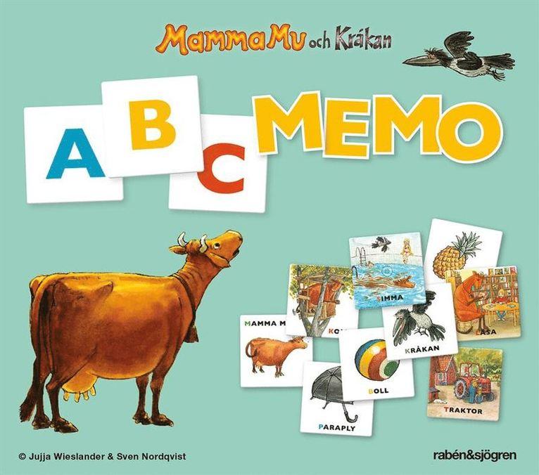 Memo ABC Mamma Mu och Kråkan 1