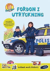 bokomslag Halvan: Fordon med fart : Lekbok med stickers