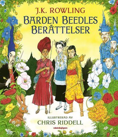 bokomslag Barden Beedles berättelser (illustrerad)