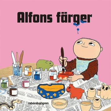 bokomslag Alfons färger