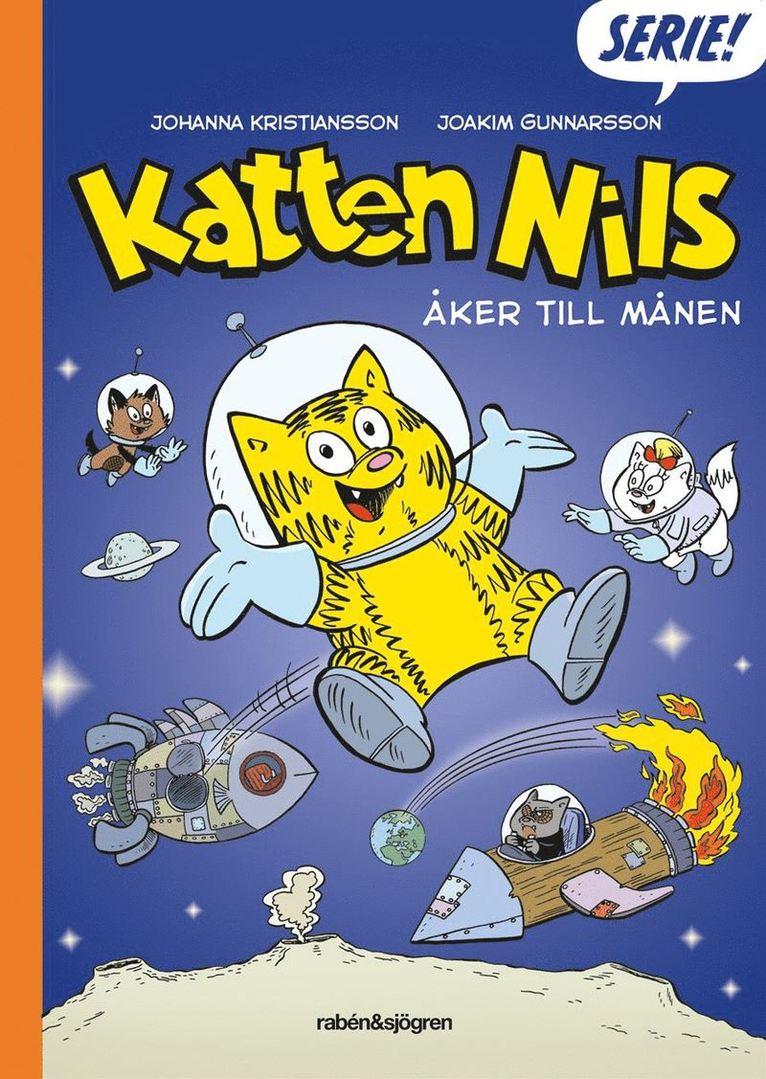 Katten Nils åker till månen 1