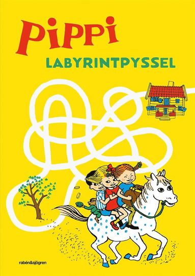bokomslag Pippi labyrintpyssel