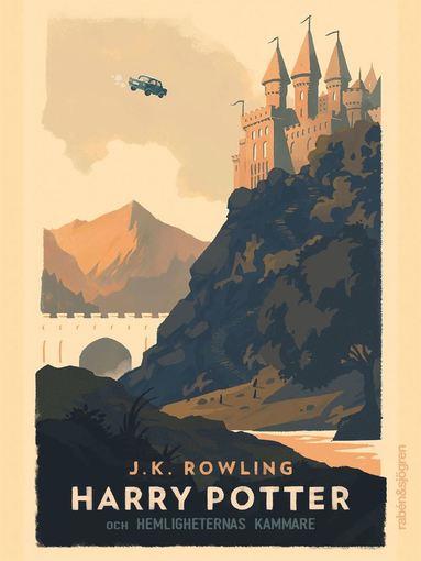 bokomslag Harry Potter och hemligheternas kammare