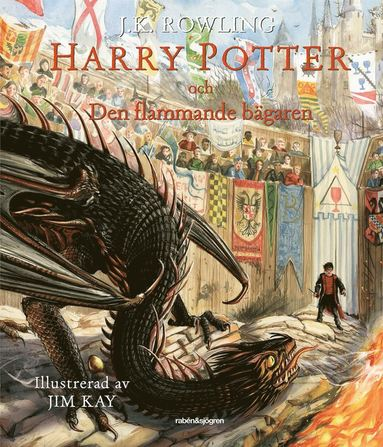 bokomslag Harry Potter och den flammande bägaren (Illustrerad)