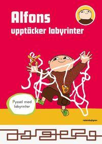 bokomslag Alfons upptäcker labyrinter