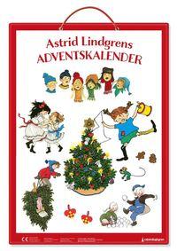 bokomslag Astrid Lindgrens adventskalender