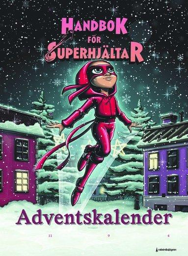 bokomslag Handbok för superhjältar - Adventskalender