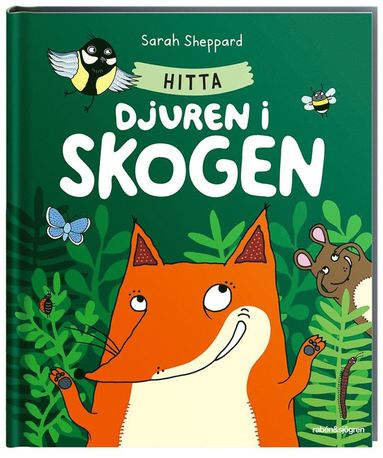 bokomslag Hitta djuren i skogen
