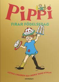 bokomslag Pippi firar födelsedag