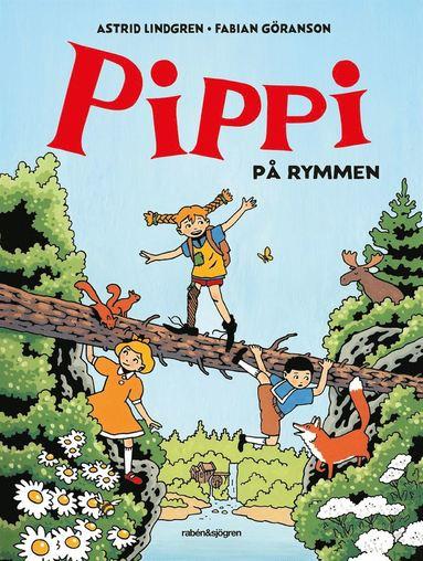bokomslag Pippi på rymmen