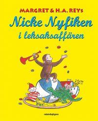 bokomslag Nicke Nyfiken i leksaksaffären