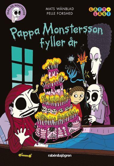 bokomslag Pappa Monstersson fyller år