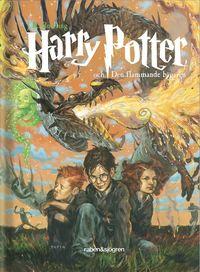 bokomslag Harry Potter och den flammande bägaren