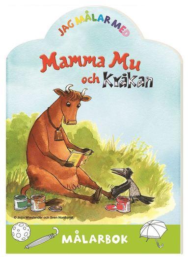 bokomslag Jag målar med Mamma Mu och Kråkan : Målarbok